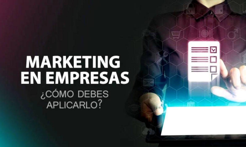 marketing empresas como aplicarlo